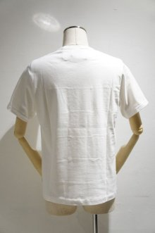 他の写真1: Yoused Play vintage Patchwork Border Tee(White×White)