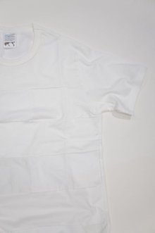 他の写真2: Yoused Play vintage Patchwork Border Tee(White×White)