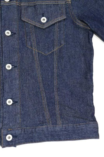画像2: FLISTFIA Denim Jacket(Indigo)