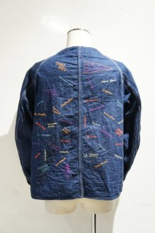 他の写真1: CAL O LINE EMB ENGINEERS JACKET(Blue)