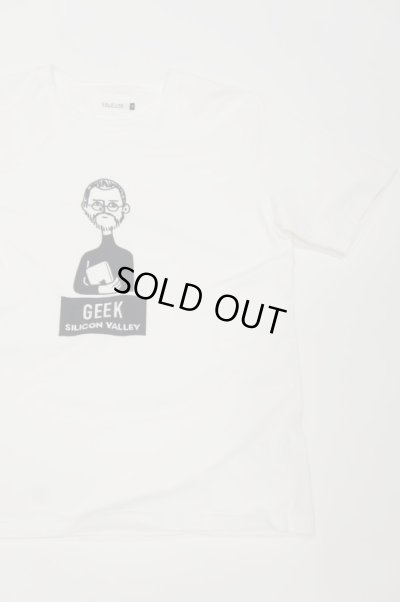 "画像3: CAL O LINE ""GEEK"" T-SHIRT(White)"