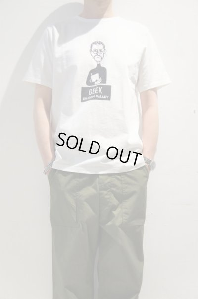 "画像1: CAL O LINE ""GEEK"" T-SHIRT(White)"
