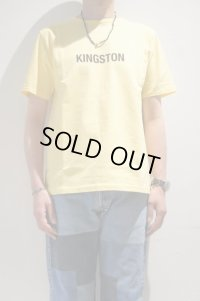 "CAL O LINE ""KINGSTON"" MAP T-SHIRT(Yellow)"