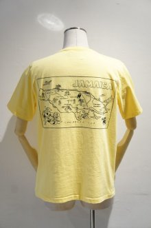 "他の写真1: CAL O LINE ""KINGSTON"" MAP T-SHIRT(Yellow)"