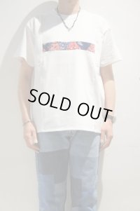 Yoused Front Patchwork Tee(White)