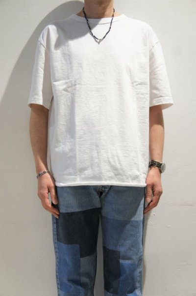 画像1: have a good day Loose s/s tee(White)