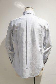 他の写真1: MANUAL ALPHABET SUPIMA PREMIUM OX BASIC B.D. SHIRT / Suitable Fit(NAVY/WHITE)