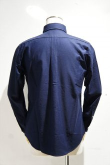他の写真1: MANUAL ALPHABET SUPIMA PREMIUM OX BASIC B.D. SHIRT / Suitable Fit(DK.NAVY)