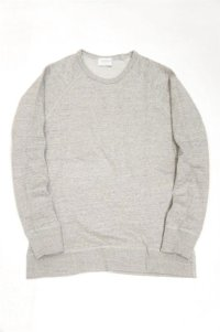 FLISTFIA Crew Neck Sweat(Light Gray)SALE!