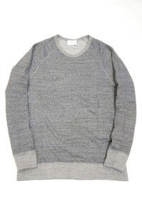 FLISTFIA Crew Neck Sweat(Charcoal)