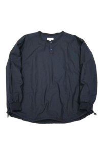 have a good day Pull over henry shirts(Navy)