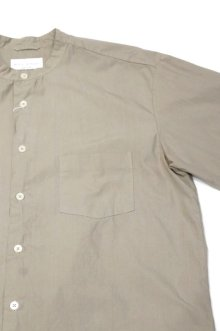他の写真2: MANUAL ALPHABET LOOSE FIT BAND COLLAR SHIRT(GREY)