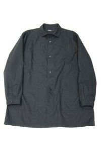 LOLO WEATHERCLOTH SHIRT JACKET(BLACK)