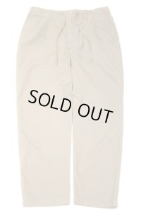 STILL BY HAND COTTON EASY PANTS(BEIGE)