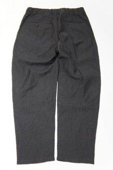 他の写真1: STILL BY HAND LINEN / WOOL EASY PANTS(CHARCOAL)