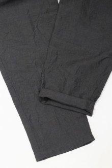 他の写真3: STILL BY HAND LINEN / WOOL EASY PANTS(CHARCOAL)