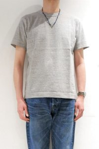 BETTER MID WEIGHT CREW NECK S/S T-SHIRT(GRAY MELANGE)