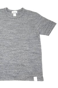 BETTER MID WEIGHT CREW NECK S/S T-SHIRT(CHARCOAL MELANGE)