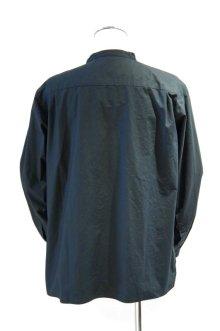 他の写真1: LOLO TYPEWRITERCLOTH STITCHLESS STAND COLLAR SHIRT(BLACK)