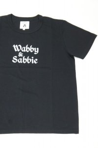 TACOMA FUJI RECORDS Wabby & Sabbie by FERNAND WANG-TEA designed by Jerry UKAI(BLACK)