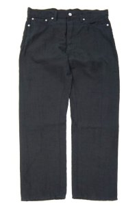 ORDINARY FITS LINEN 5POCKET ANKLE (BLACK)