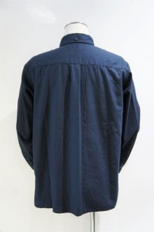 他の写真1: LOLO OX STITCHLESS B.D. SHIRT(NAVY)