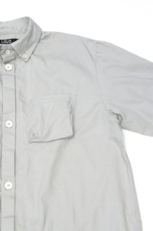 他の写真2: LOLO OX STITCHLESS B.D. SHIRT(GRAY)