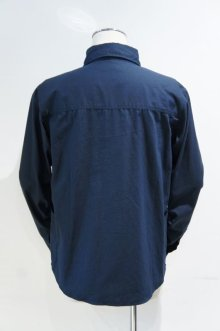 他の写真1: LOLO OX ROUND COLLAR PULL OVER SHIRT(NAVY)