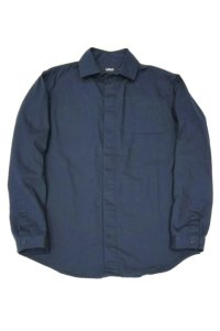 LOLO OX FLY FRONT SHIRT(NAVY)