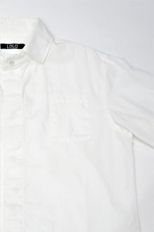 他の写真3: LOLO OX FLY FRONT SHIRT(WHITE)