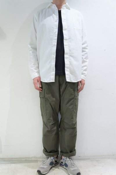 画像2: LOLO OX FLY FRONT SHIRT(WHITE)