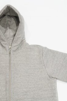 他の写真2: STILL BY HAND ZIP UP SWEAT PARKA(HEATHER GREY)