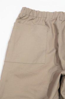 他の写真2: STILL BY HAND COTTON DOUBLE CLOTH PANTS(GREIGE)SALE!