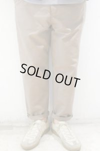 STILL BY HAND COTTON DOUBLE CLOTH PANTS(GREIGE)