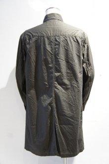 他の写真1: MANUAL ALPHABET HIGH COUNT TWILL SHIRT COAT(CHARCOAL)
