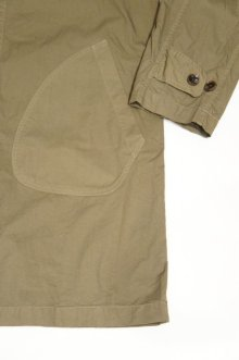他の写真3: MANUAL ALPHABET HIGH COUNT TWILL SHIRT COAT(DARK OLIVE)