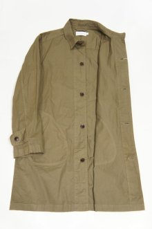 他の写真2: MANUAL ALPHABET HIGH COUNT TWILL SHIRT COAT(DARK OLIVE)