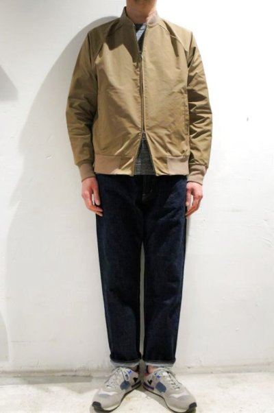 画像2: FLISTFIA  Flight Jacket(Mocha Beige)