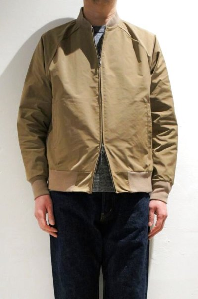 画像1: FLISTFIA  Flight Jacket(Mocha Beige)