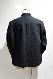 他の写真1: STILL BY HAND COTTON LINEN TWILL BLOUSON(BLACK)
