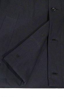 他の写真3: STILL BY HAND COTTON LINEN TWILL BLOUSON(BLACK)
